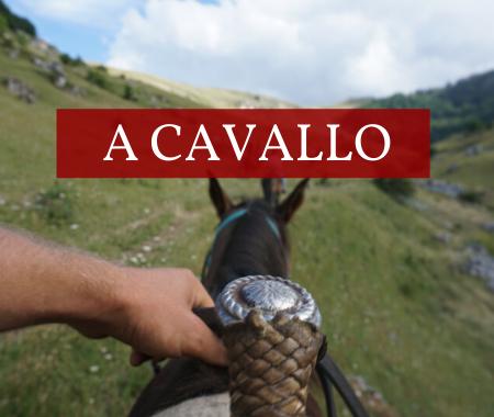 a cavallo in abruzzo